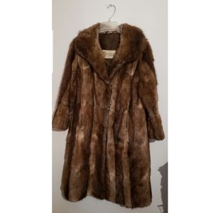 Jackets & Blazers - Brown Russian Sable Mink Fur Coat